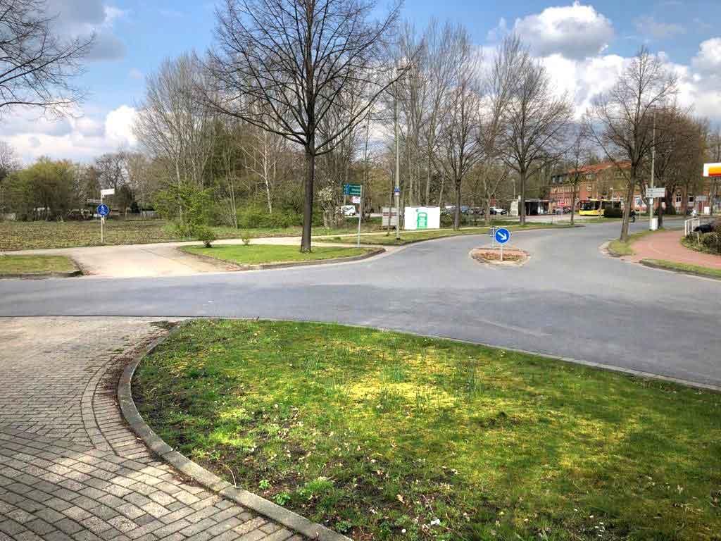 Kreisverkehr-Weseler-Maasenstrasse-Schermbeck