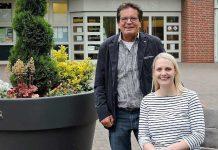 Ulrich Stiemer und Charlotte Quik CDU Schermbeck