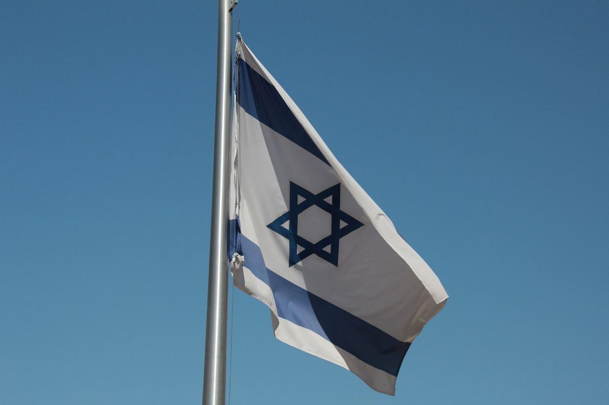 Fahne Israel verbrannt in Dinslaken
