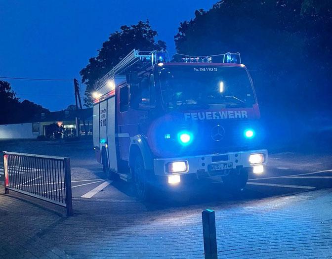 Feuerwehr Schermbeck Einsatz