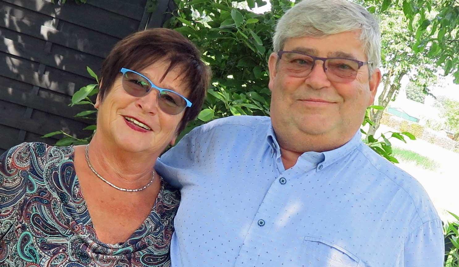 Ingeburg und Günther Heyne sind seit 50 Jahren verheiratet. Foto: Helmut Scheffler