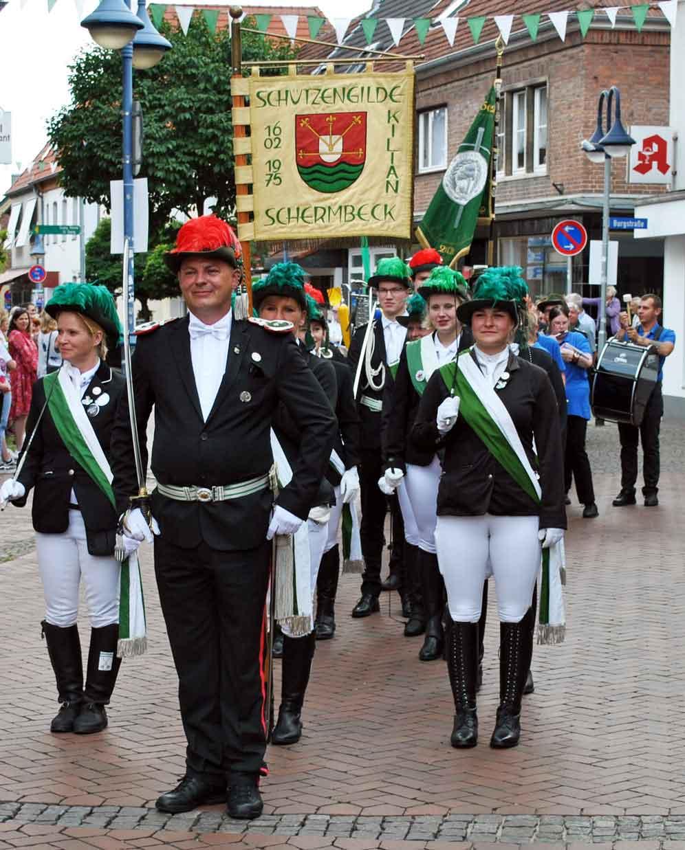 Kiliangilde Schermbeck Schuetzenfest 2021