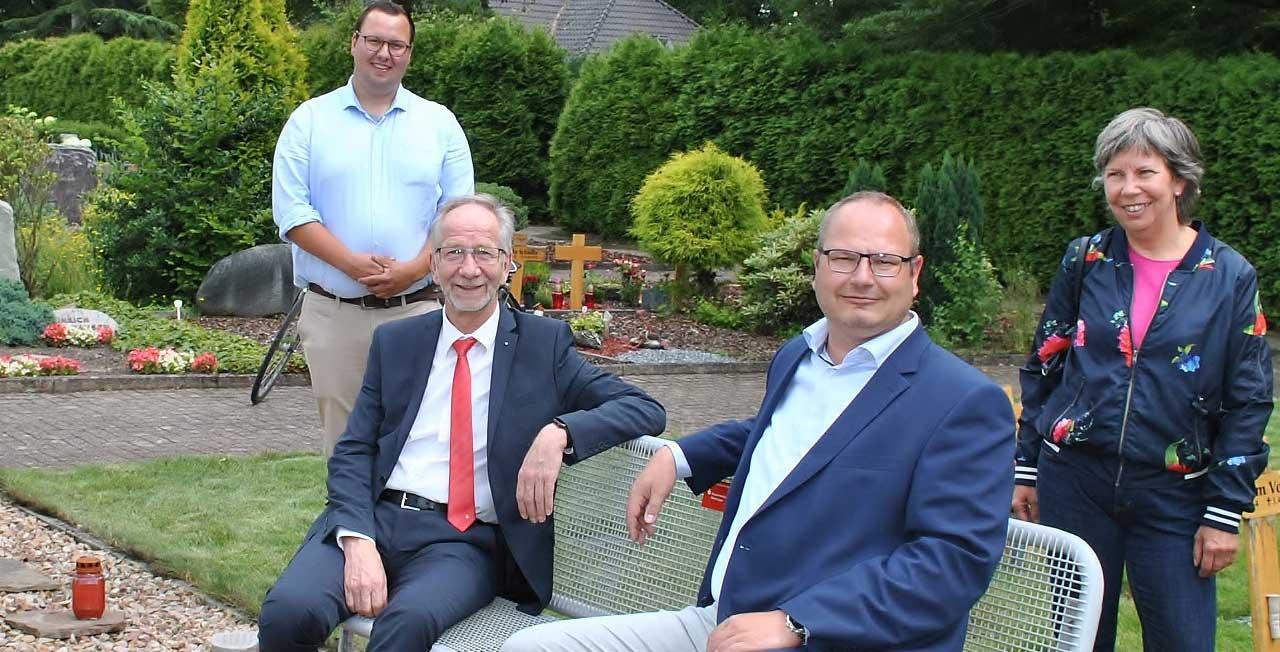 Volksbank Schermbeck und NISPA Wesel gehen mit gutem Beispiel voran