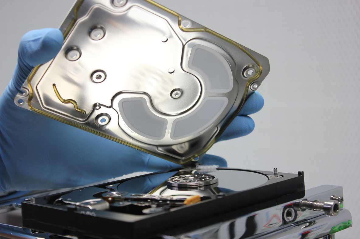 NAS-Datenrettung-Festplatte