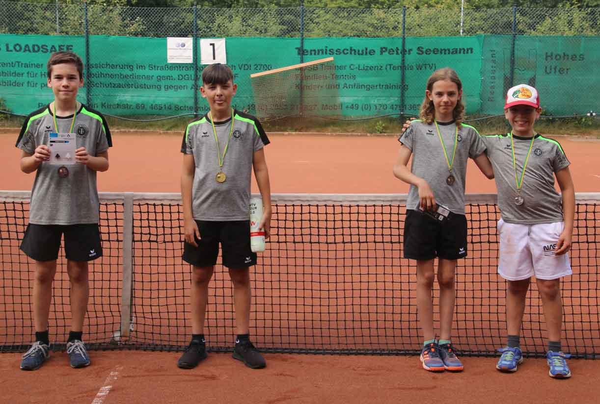 Jugendvereinsmeisterschaft-Tennis-TC-Schermbeck