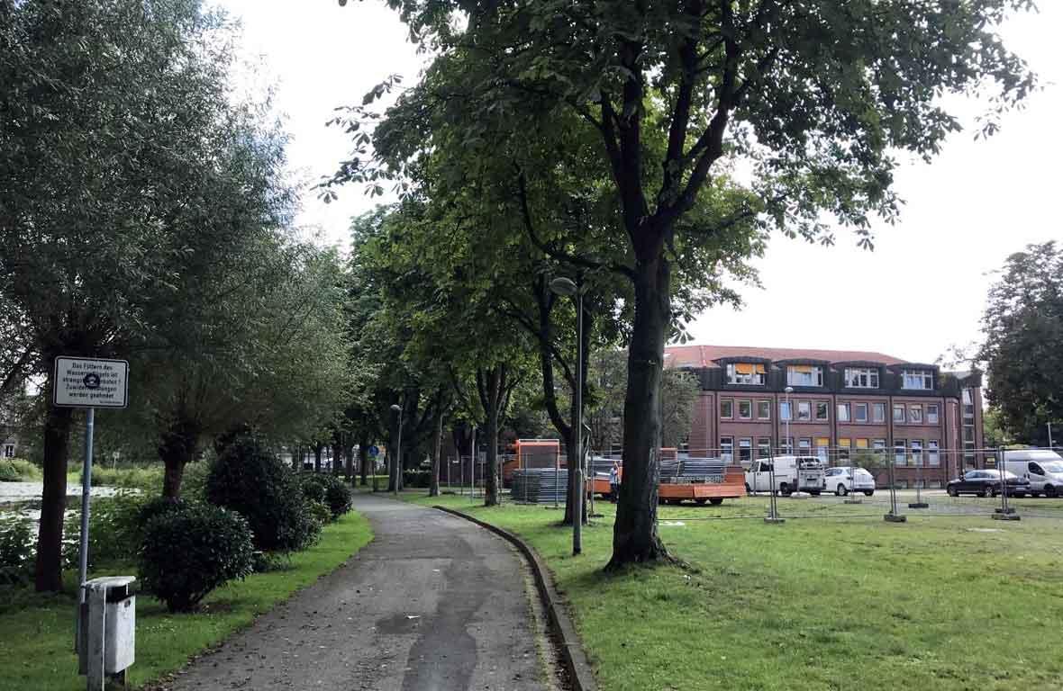 Mühlenteich-Schermbeck-Bewegungspark-umbau