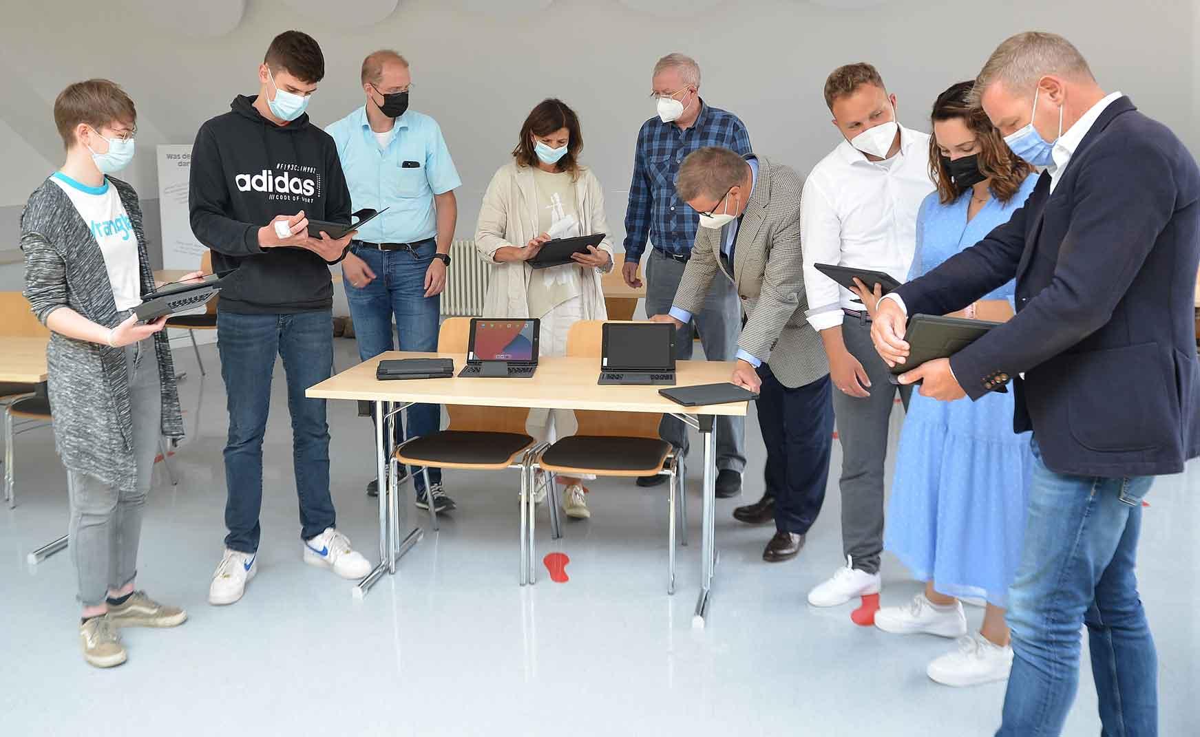 iPads-für-alle-Schüler Schermbeck