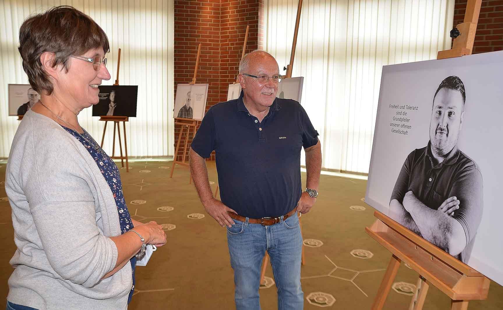 Ausstellung-gegen-rechts-Rathaus-Schermbeck-Bremer