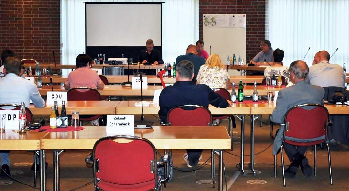 Ratssitzung-Schermbeck