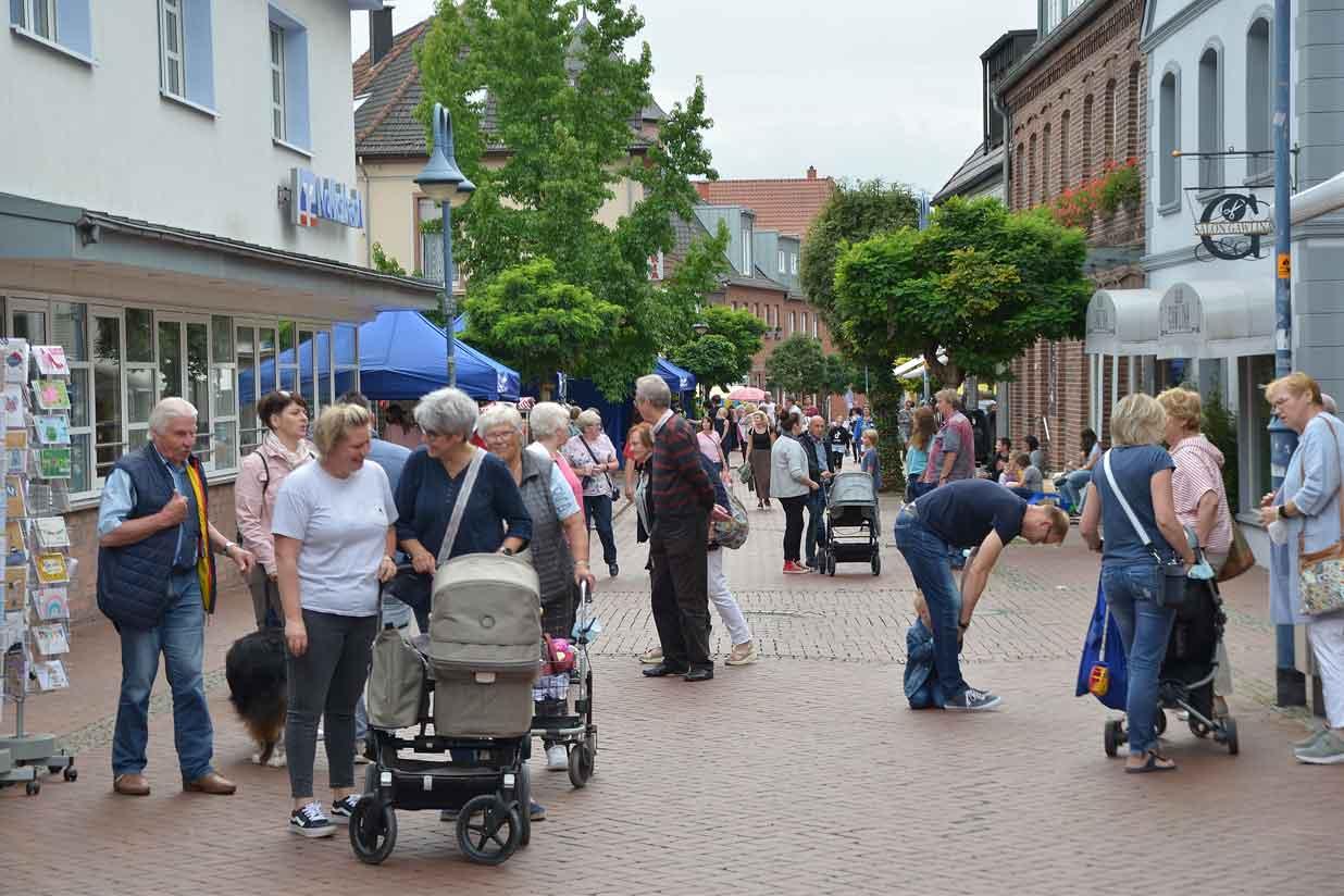 Schermbecker Markt Mittelstrasse 2021