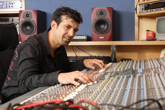 Tony Catania bei der Arbeit