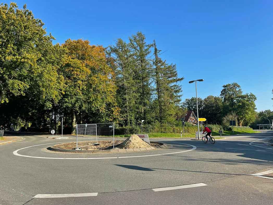 Kreisverkehr Freudenberger Straße
