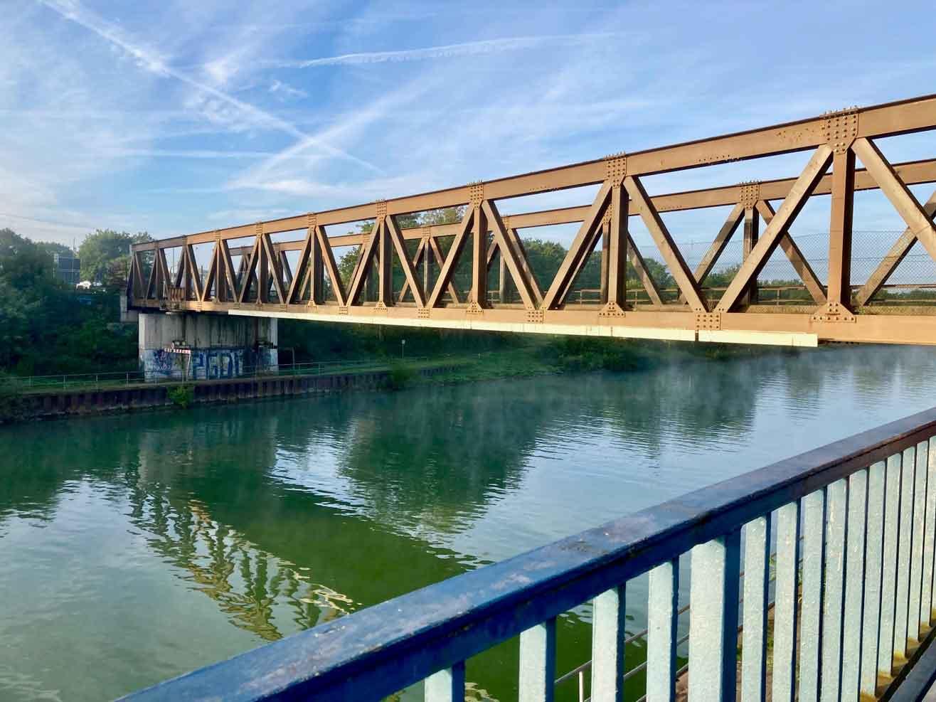 Lippe-Brücke-Hünxe-gesperrt